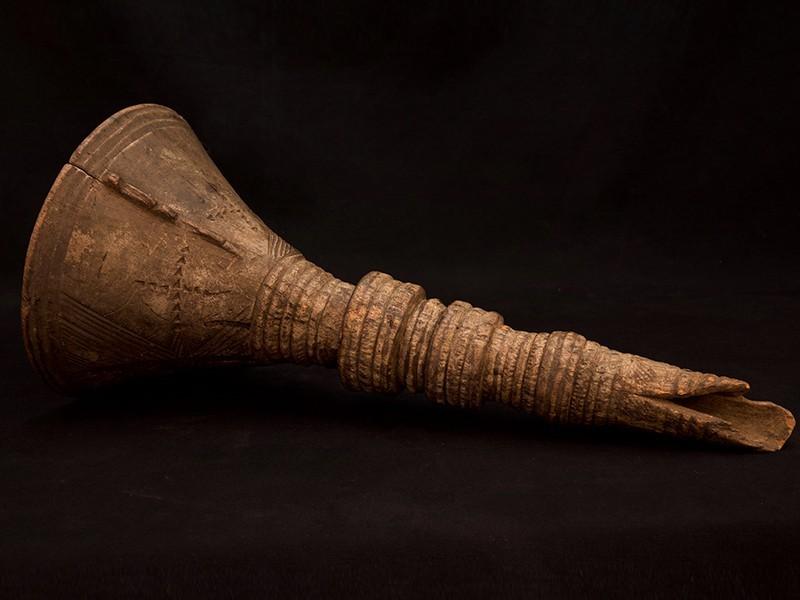 Embudo Tuareg madera
