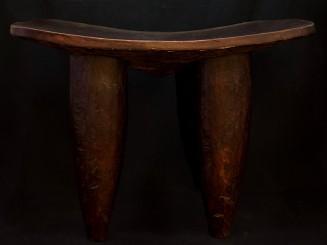Vintage Senufo Stool carved...