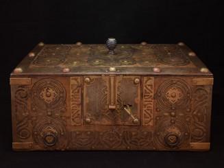 Sunduk. Old Mauritanian travel chest