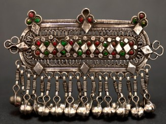 Old Hazara silver hair clip