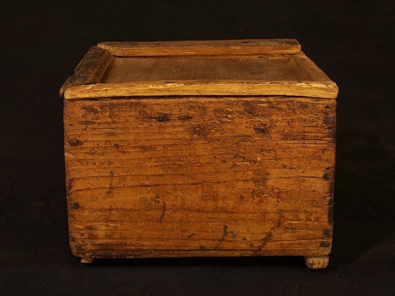 Caja de azúcar cedro P