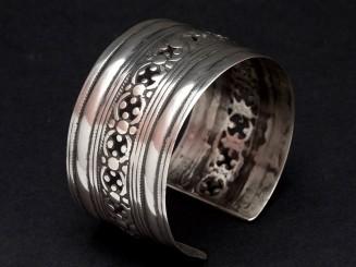 Afghan old silver cuff