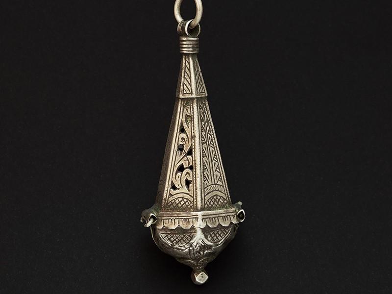 Old Berber silver pendant.