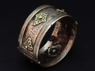 Berber old silver and...