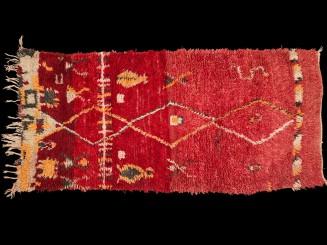 Boujad Berber rug vintage