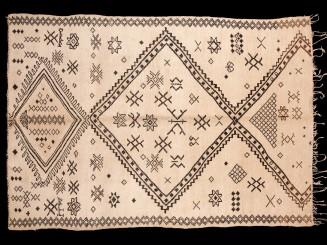 Berber Marmoucha vintage rug