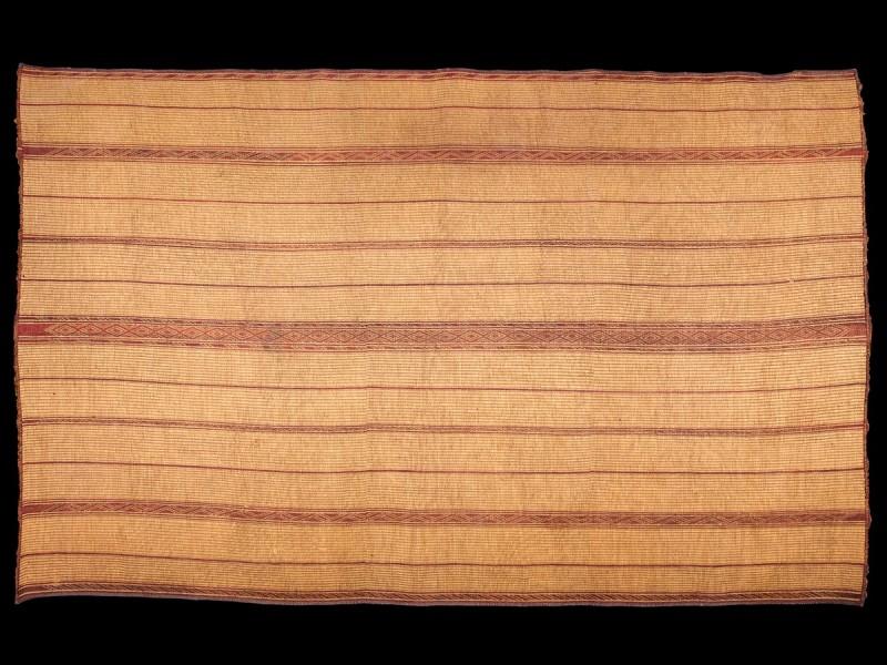 Estera sahariana fibra y cuero