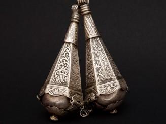 Old Berber silver pendant....