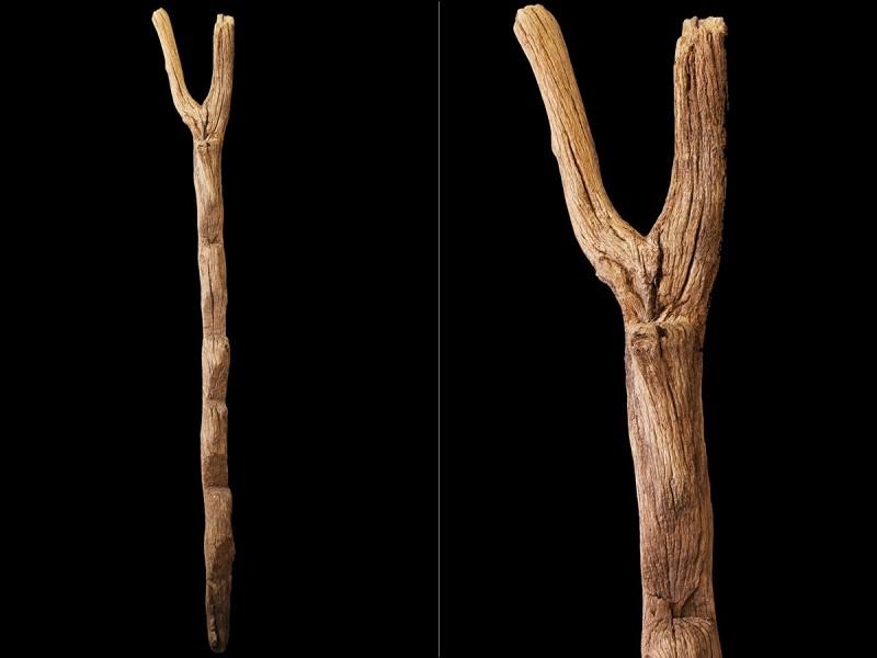Escalera bereber tronco granero (Agadir)
