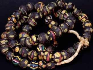 Strand of Venetian trade beads
