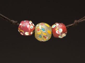 3 Venetian trade beads (fiorà)