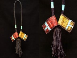 Tuareg leather...