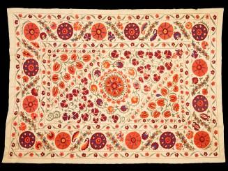 Suzani. Uzbek embroidered...