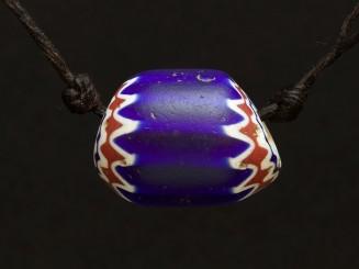 Venetian chevron trade bead