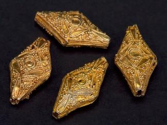 Mauritanian silver beads...