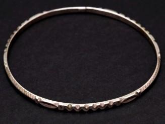 Berber silver bangle