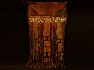 old tuareg leather bag