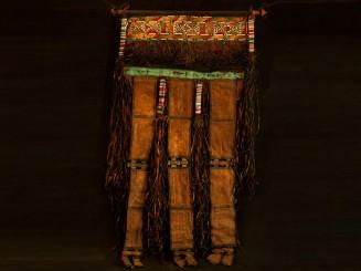 Old Tuareg leather banner