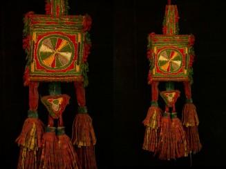 Tuareg leather embroidery...