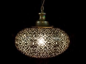 Copper openwork ceiling lamp (S)