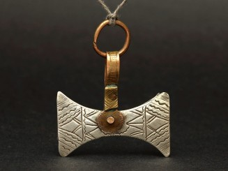 Silver and copper Tuareg...