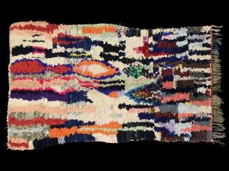 Boucherouite Berber rug