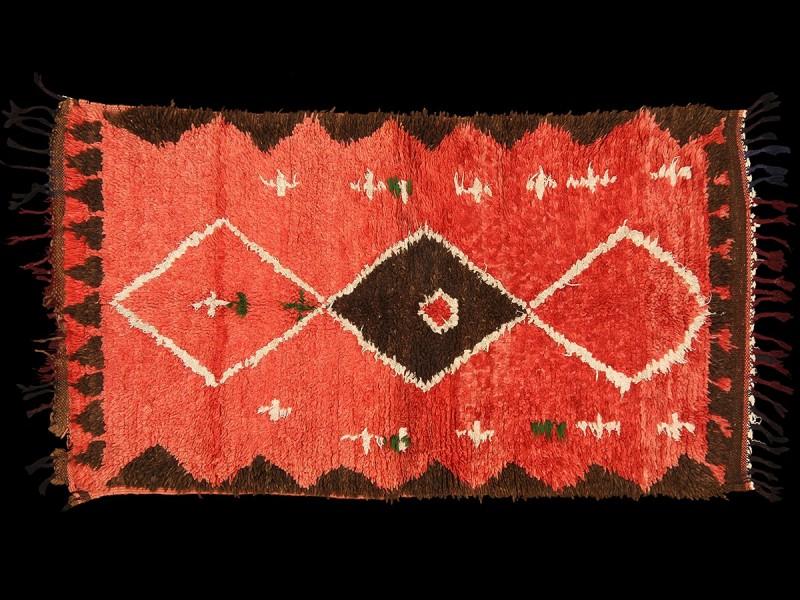 Alfombra bereber Boujad vintage