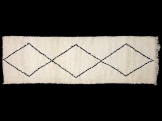 Moroccan Berber wool knotted Khouloud rug.New