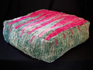 Boucherouite. Floor cushion.