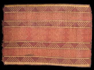 Saharian reed leather mat
