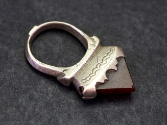 Old Tuareg silver and...