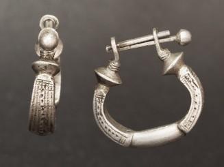 Old silver Tuareg earrings