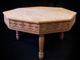 Moroccan cedarwood carved...