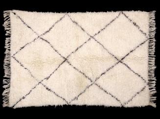Berber wool knotted Beni...