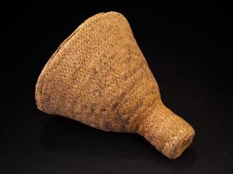 Old Berber raffia funnel
