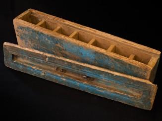 Old cedarwood box for tea...