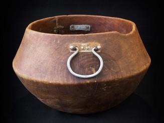 Saharian old milking bowl