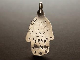 Pendant. Tunisian silver...
