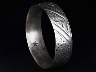 Berber old silver bracelet