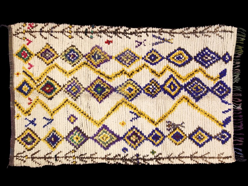 Ourika. Berber knotted rug