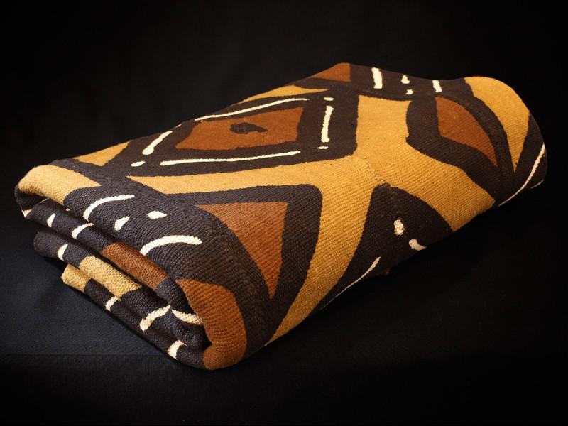 Mudcloth fabric. New