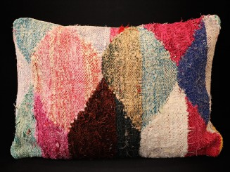 Boucherouite cushion.