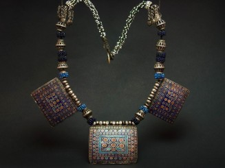 Old Hazara silver and...