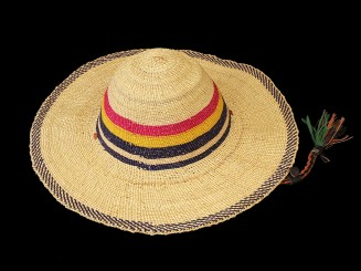 Burkina raffia hat
