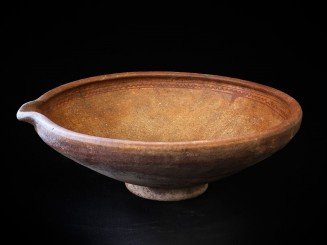 Berber old clay vessel for...