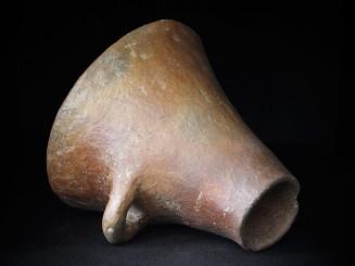 Majgun. Old Berber clay funnel