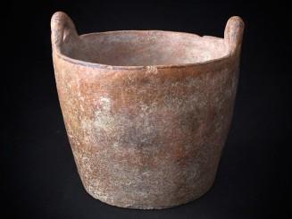 Antique earthenware vessel....