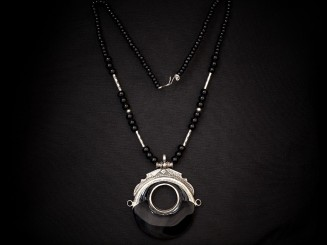 Tuareg silver necklace