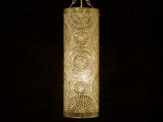 Painted plate tubular lantern