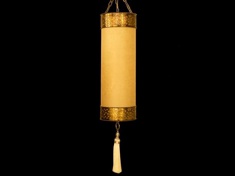 Lámpara cobre papel (M)